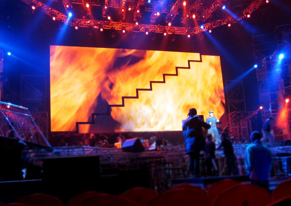 led экран на концерт