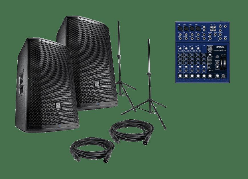 Звуковой комплект JBL 1.5 кВТ