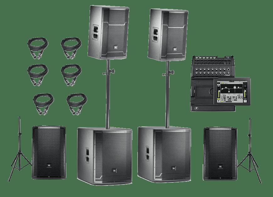 Звуковой комплект JBL 5.0 кВТ