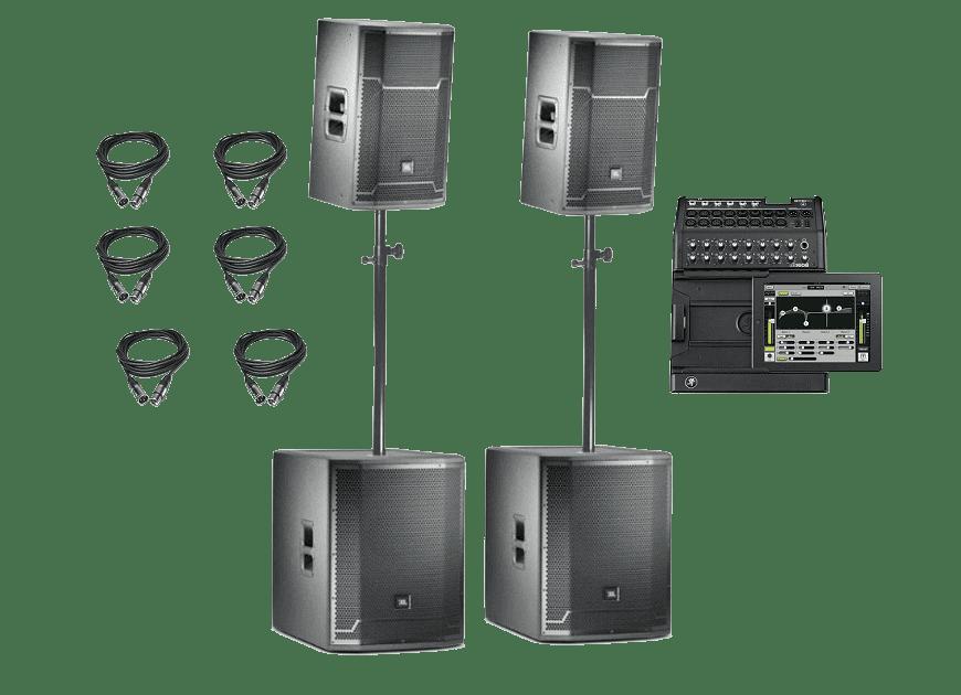 Звуковой комплект JBL 3.5 кВТ
